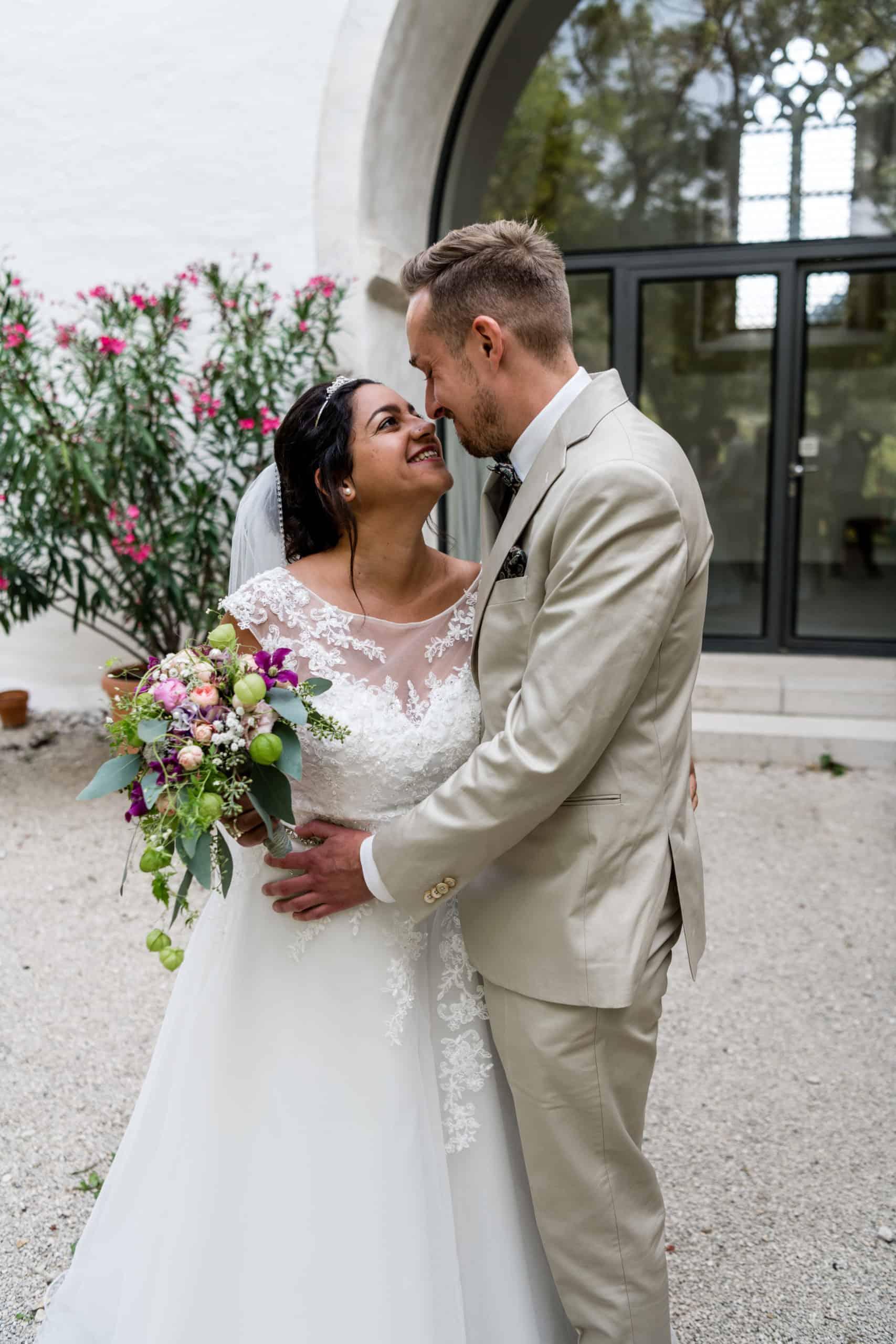 Brautpaar Kirche Ligerz